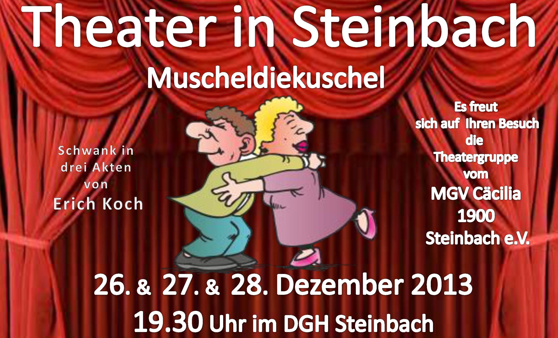 muscheldiekuschel Theater Plakat 2013