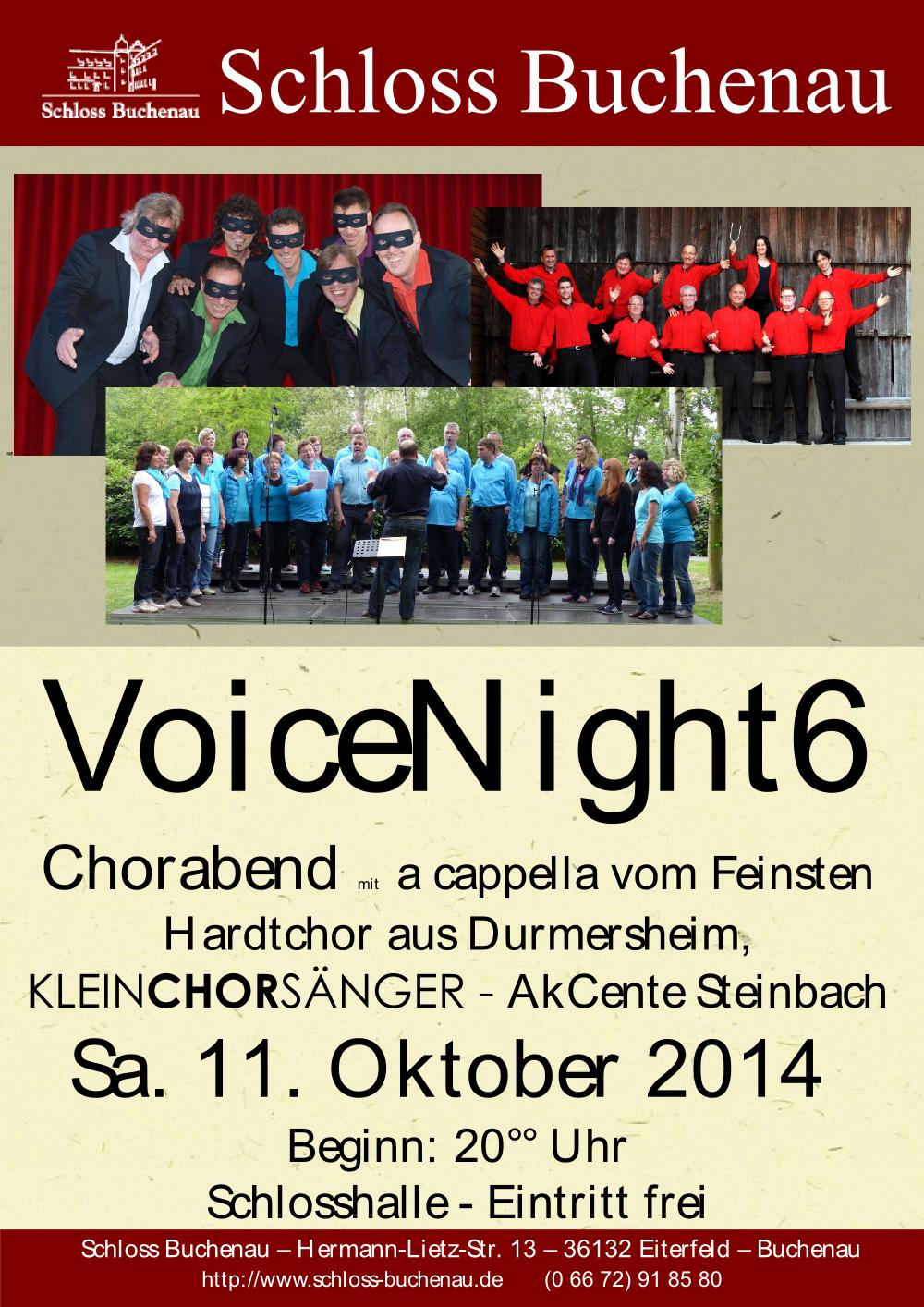 VoiceNight 2014
