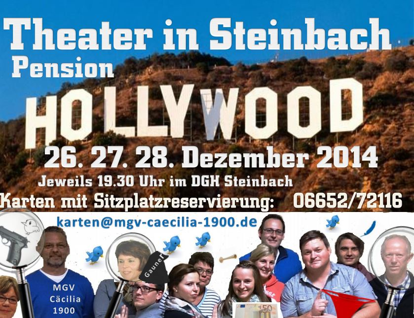 Theater in Steinbach Pension Hollywood