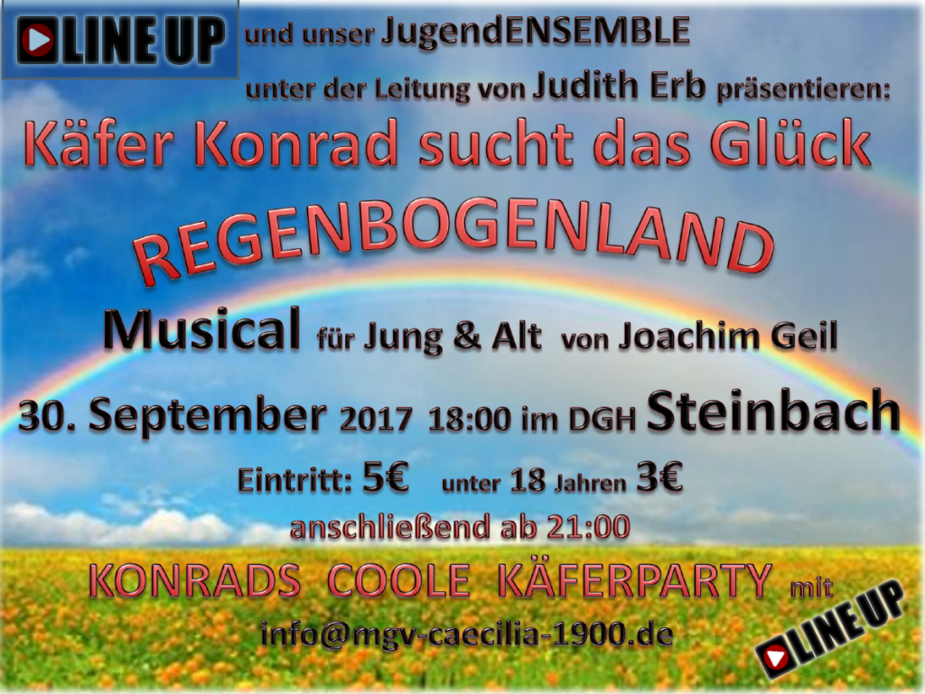Flyer Käfer Konrad