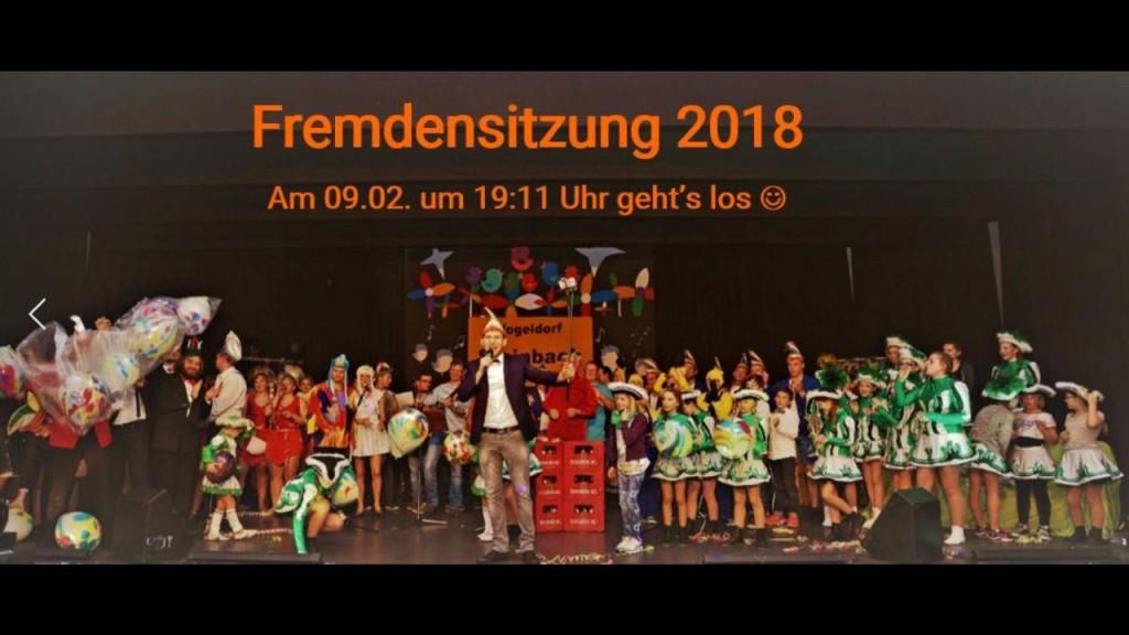 Die Fremdensitzung 2018 in Steinbach